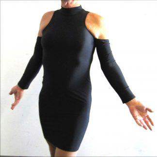 Sexy Skin Tight Dress Black