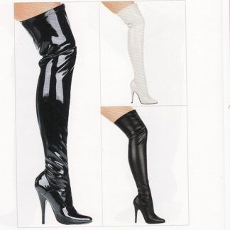 Stretch Boot with 5 Inch Heel