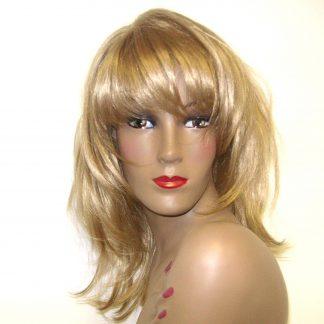 Sandra layered hair in Blonde