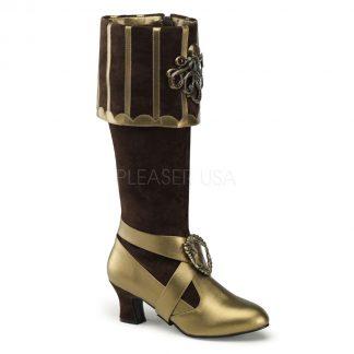 Cuffed Knee Boot
