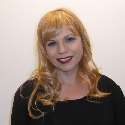 Brassy Blonde Human Hair wig